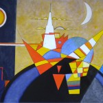 Real Fake Composition of Kandinsky